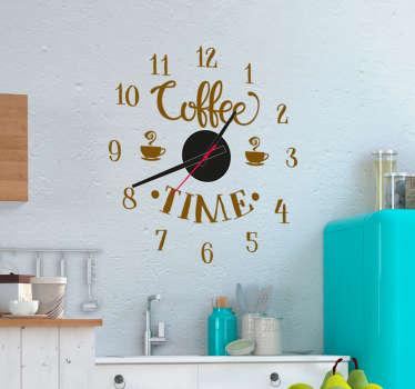 Dal design elegante e ricercato a quello divertente e ironico. Orologi Da Parete Adesivi Moderni E Colorati In Cucina Tenstickers