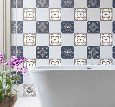 gorgeous tile sticker designs tenstickers