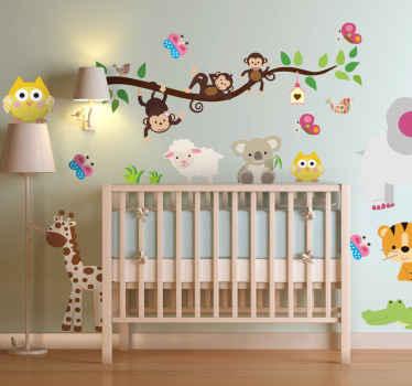 Stickers adesivi, decorazioni murali e oggetti decorativi per rendere allegra, colorata e luminosa la cameretta dei. Adesivi Murali Bambini Decorazioni Per I Bimbi Tenstickers