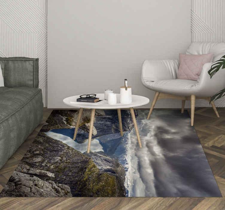 tapis salon trolltunga norvege