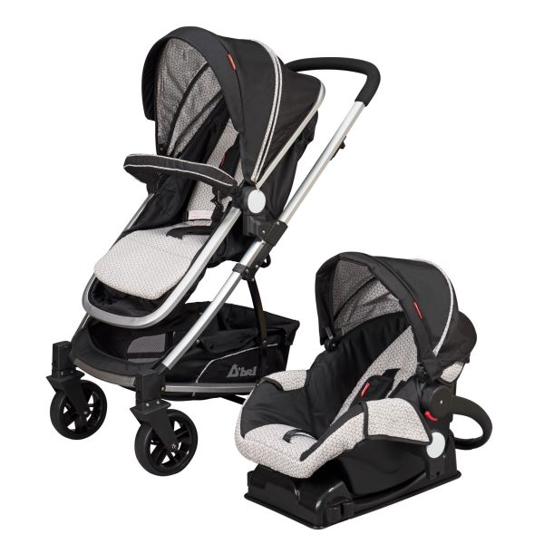 Dbebe Carriola Travel System Crown Negra