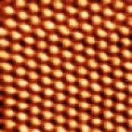 Graphite atoms. Constant height. 50 mV.