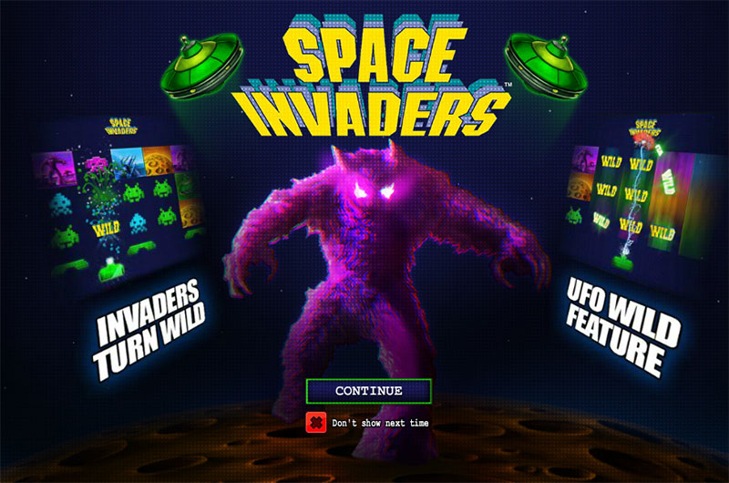 Space Invaders Slot - Free Play