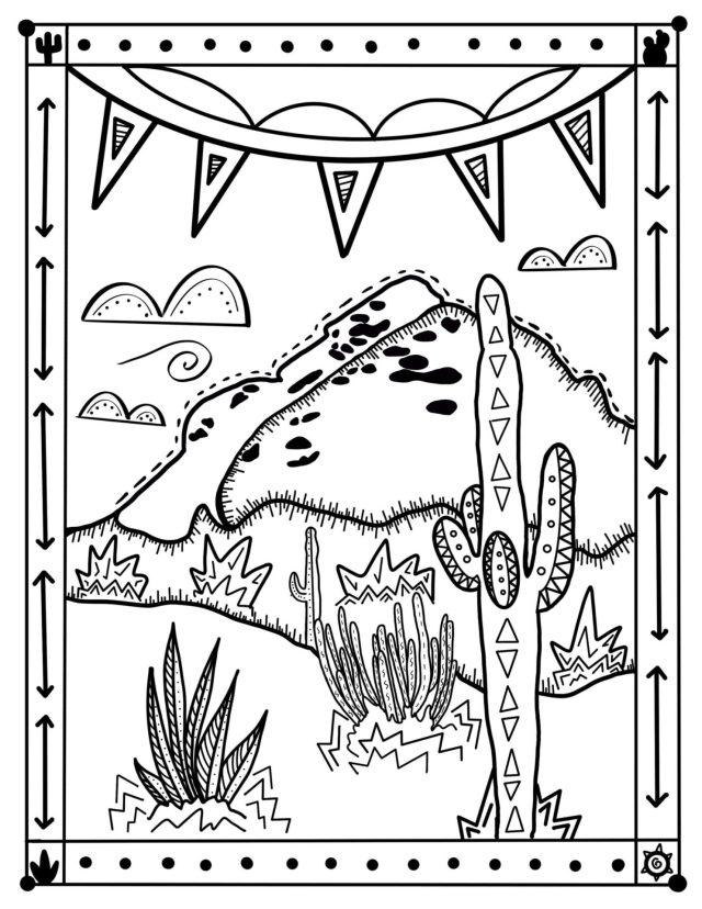 Grab your Crayons and Unwind  Desert Botanical Garden
