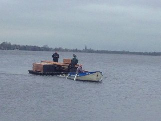 transport op water