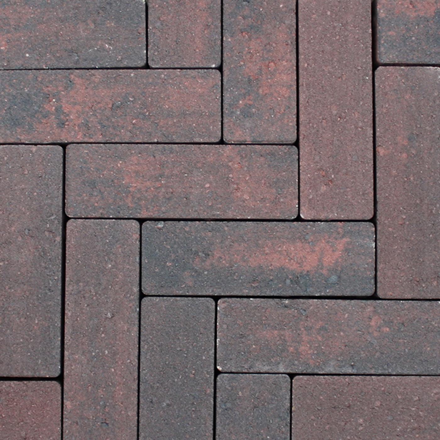 209069 Strackstone+ 21x7x8 Wijnrood-Antraciet (2)