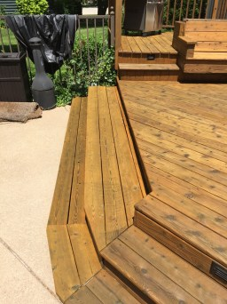 deck staining chicago