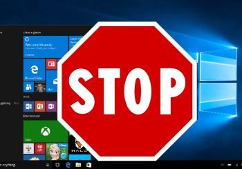 Attention ! Vous pouvez refuser la mise à jour vers Windows 10