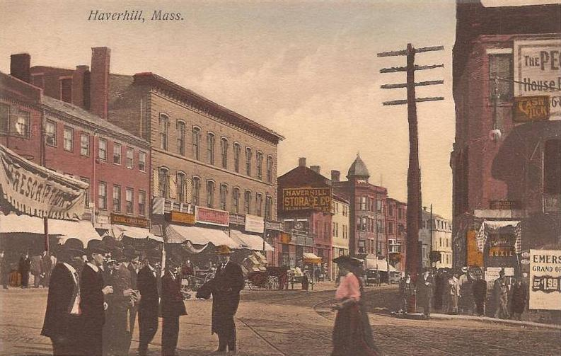 Postcard image of Haverhill