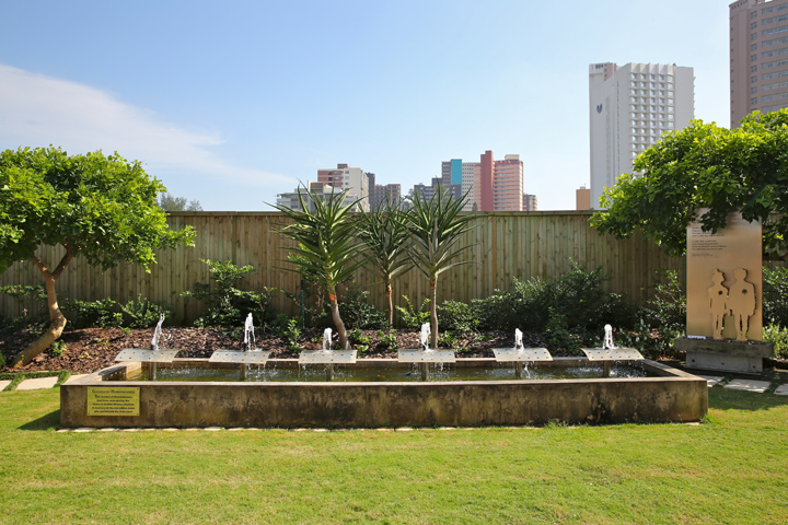 DHC - Garden of Remembrance - Skyline - Photo © Jono David, HaChayim HaYehudim Jewish Photo Library