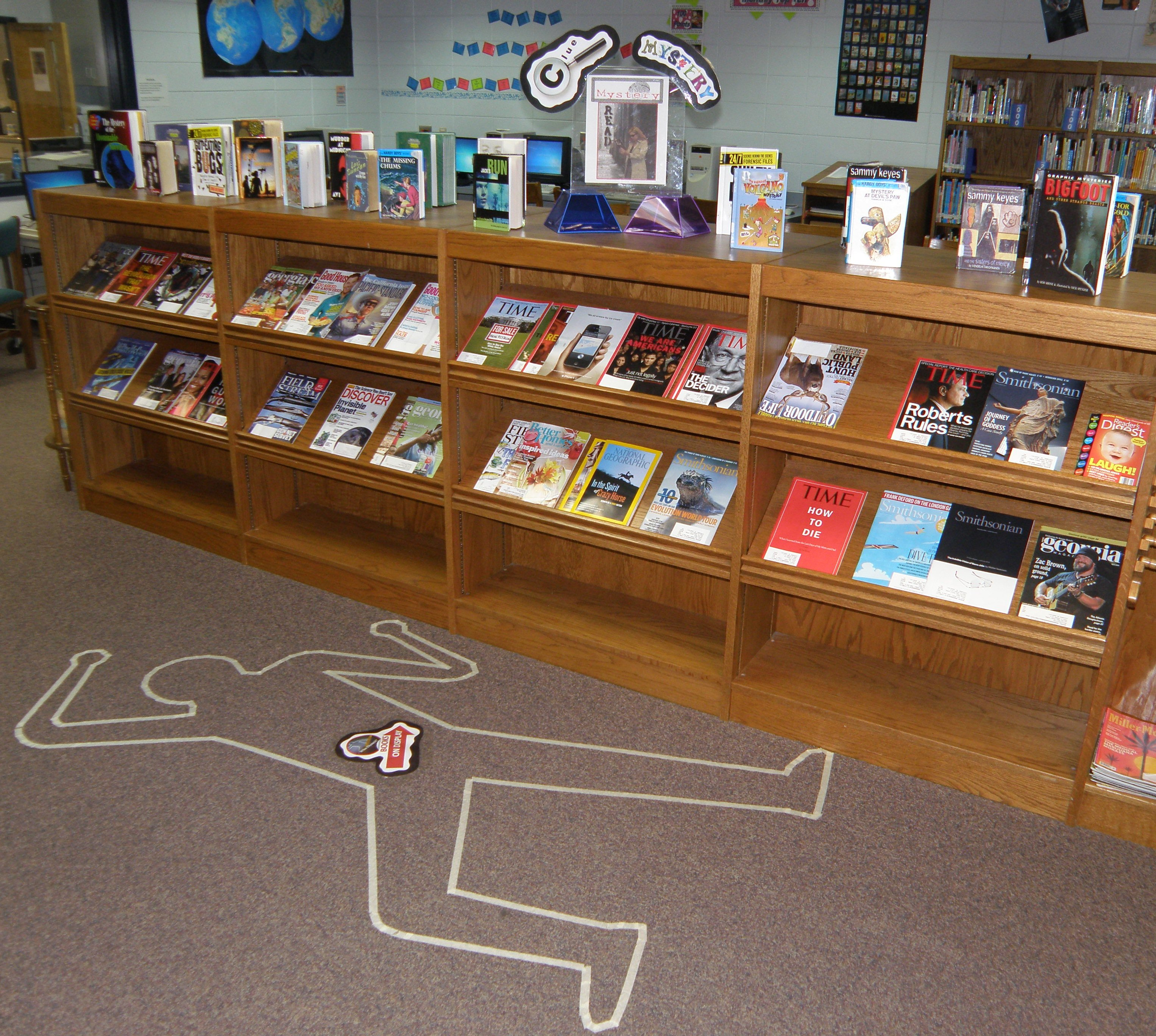 Murder Mystery In The Library