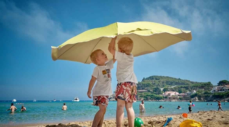 Kids on beach estate planning