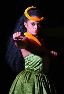MAUI - Luau dancer at the Te Au Moana Luau