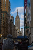 Empire State Building from Union Square.