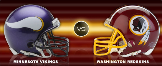 free NFL betting pick: Minnesota Vikings at Washington Redskins