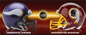 free NFL betting pick: Minnesota Vikings at Washington Redskins