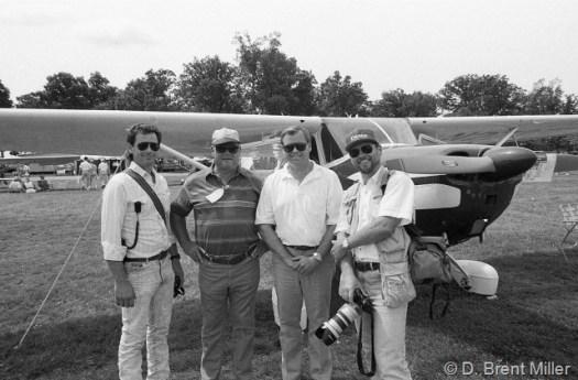 Miller boys at EAA-1993