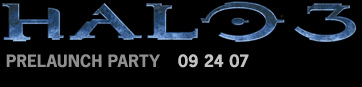 Halo 3 Lauch Party