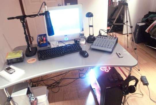 rearranged my desk