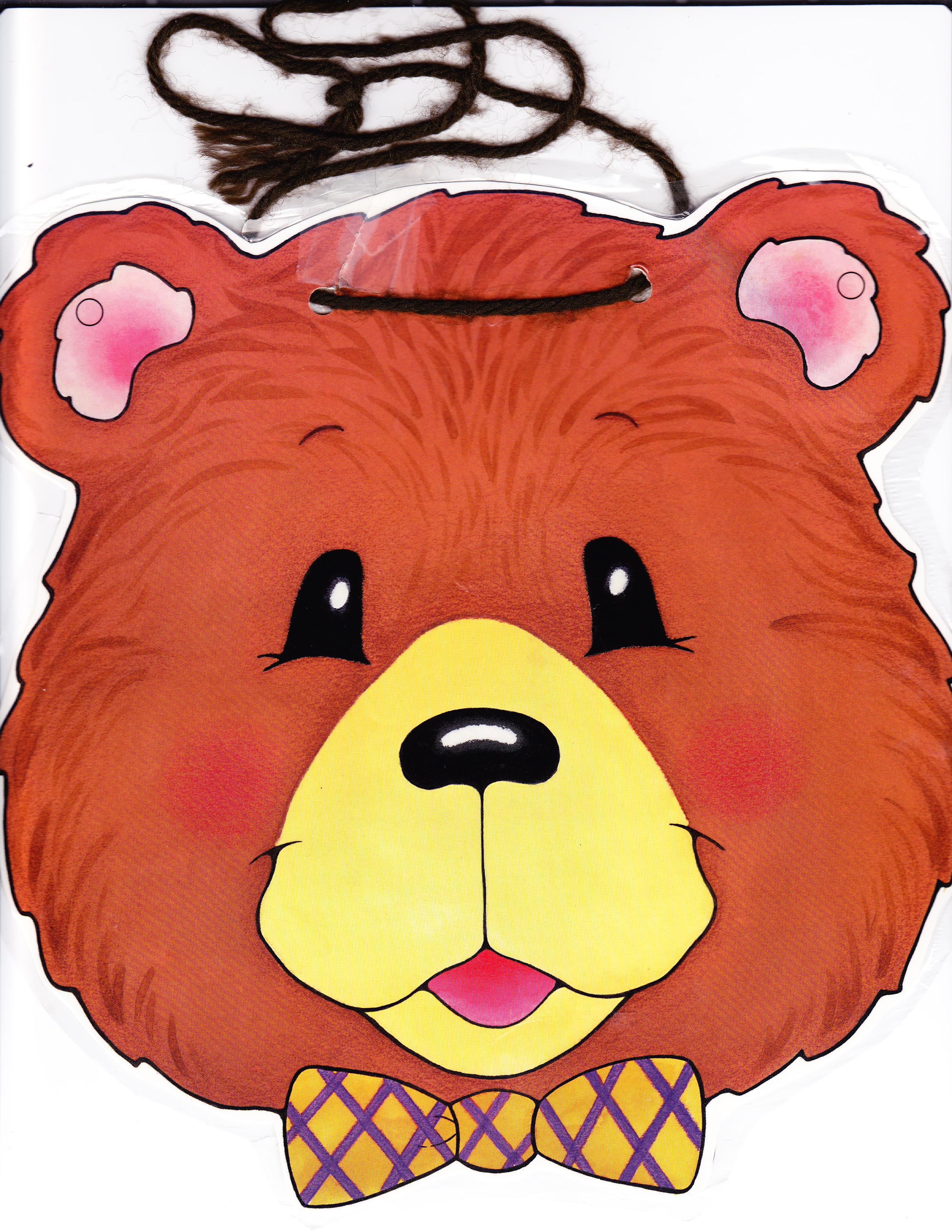 Pin Goldilocks Mask Free Printable