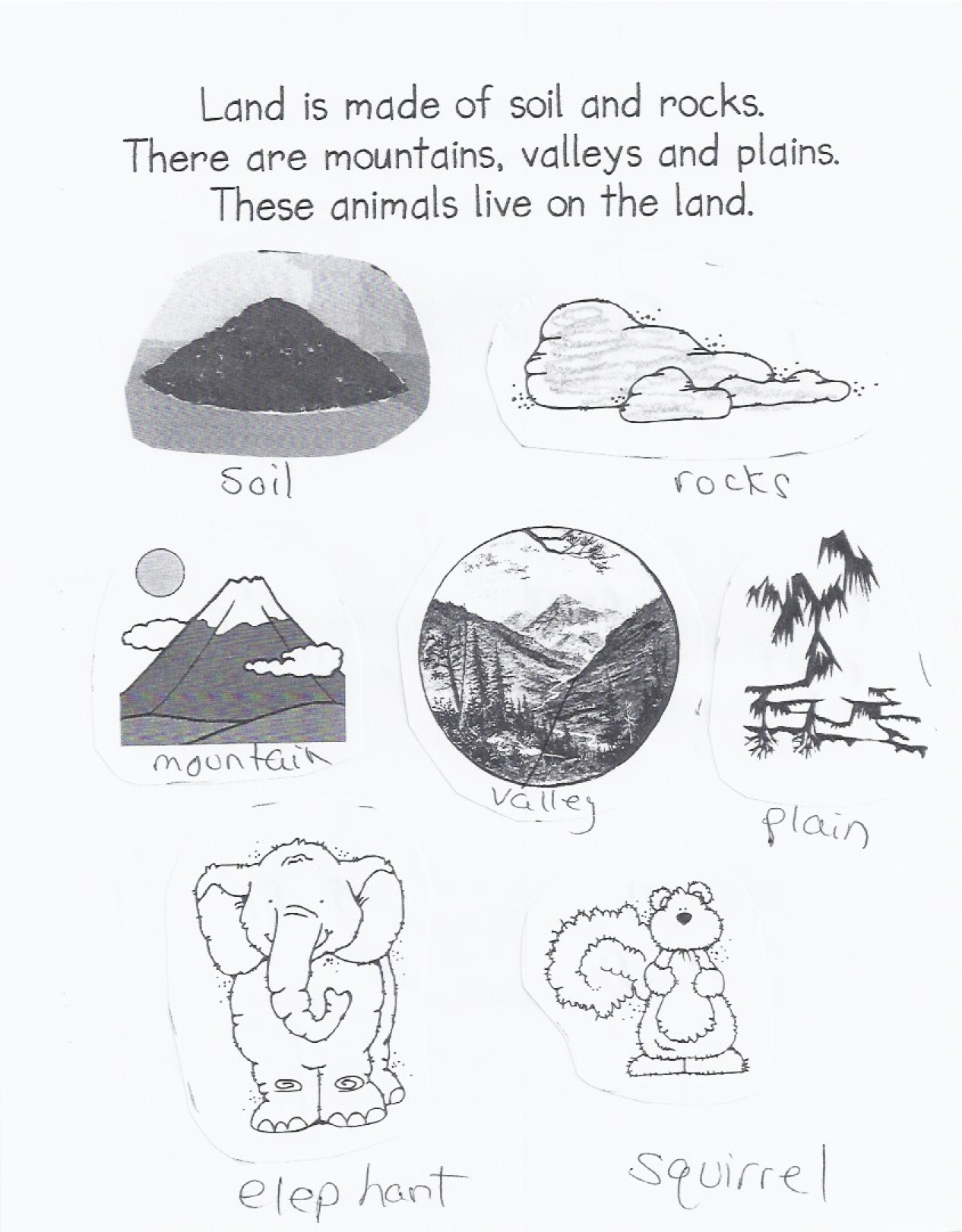 Soil Layer Fun Preschool Worksheet
