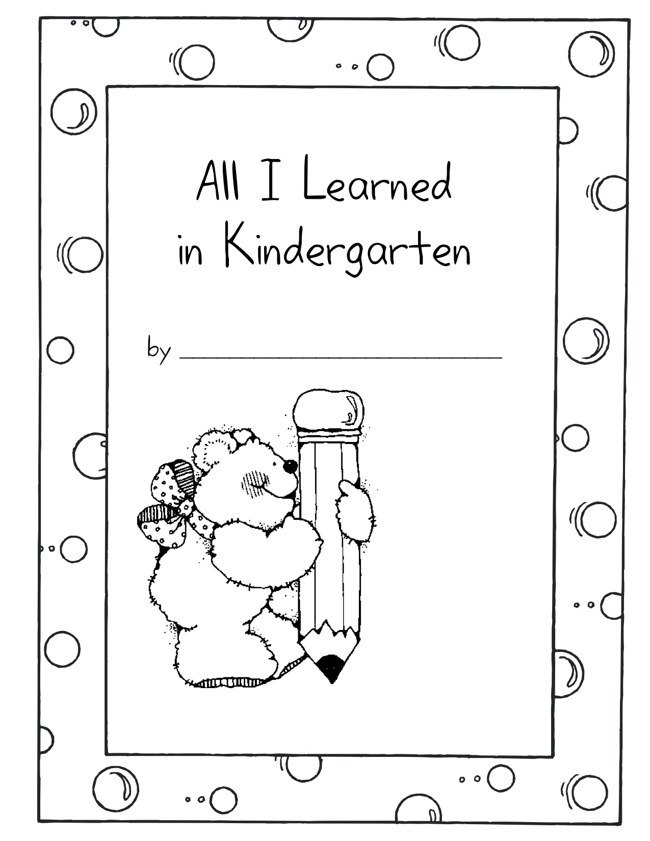 All I Learned In Kindergarten