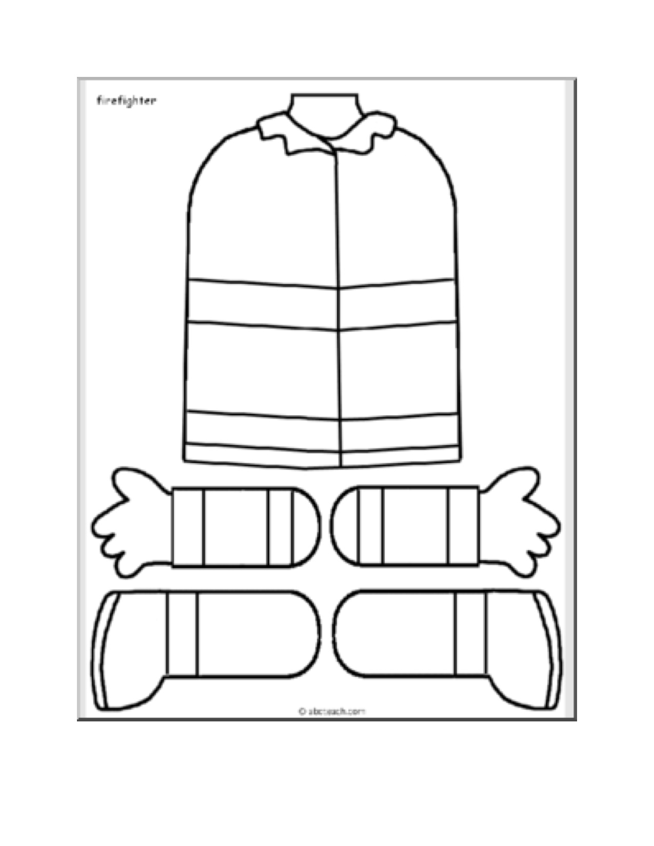 Paper Bag Puppets Patterns