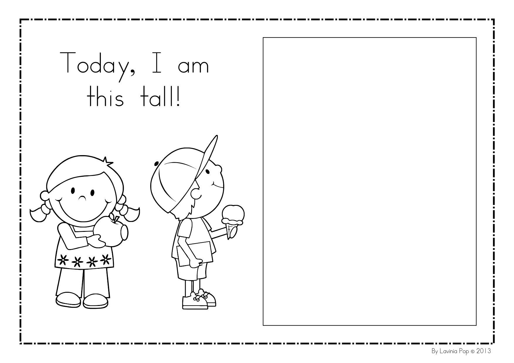 Me Book Kindergarten Nana I Am Unique Worksheets For