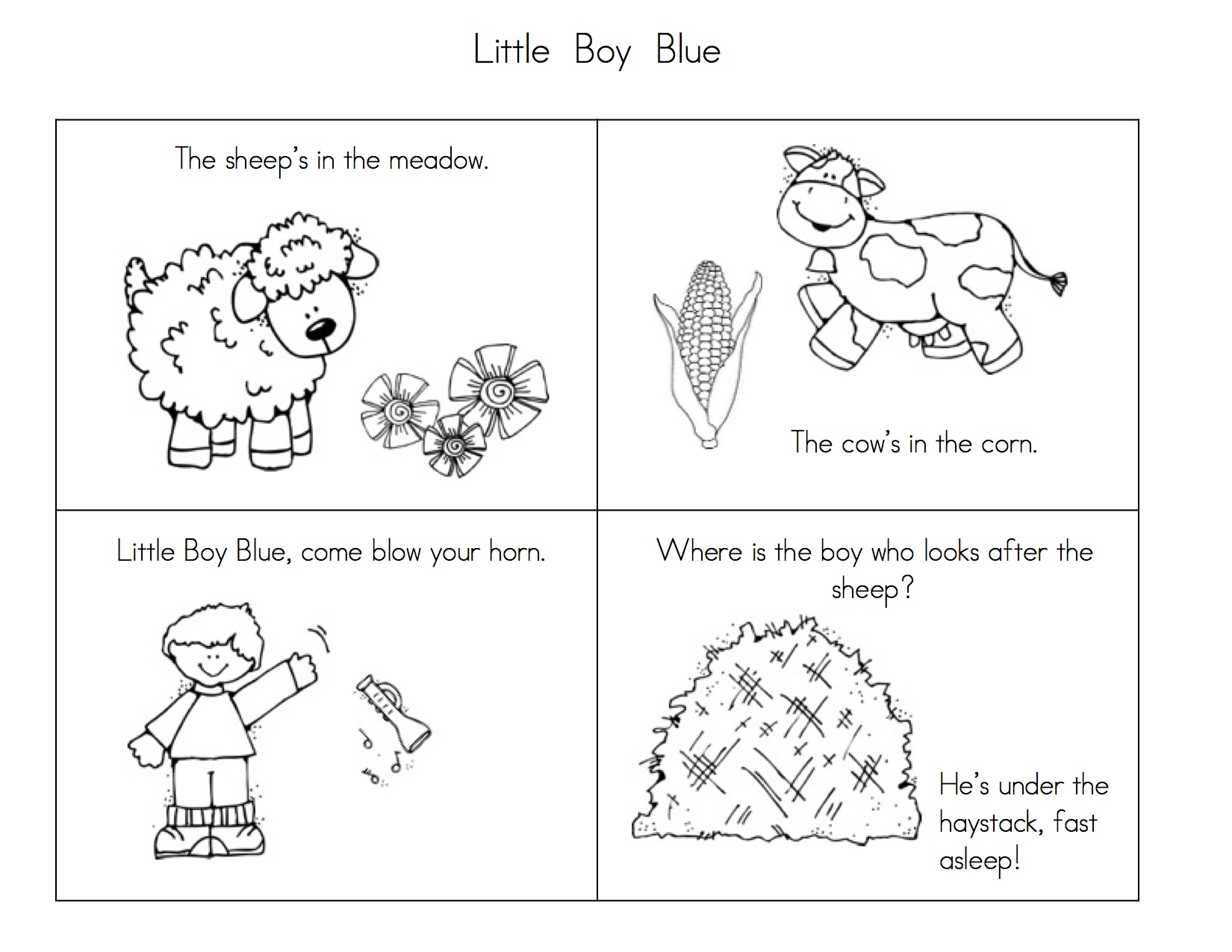 Little Boy Blue Seq