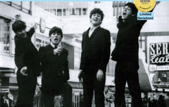 Beatles I Want To Hold Your Hand / I Saw Her Standing There