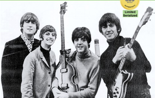 """This certifies that this 7"""" record: - The Beatles - Please Please Me b/w Ask Me Why (DBS 003)"""