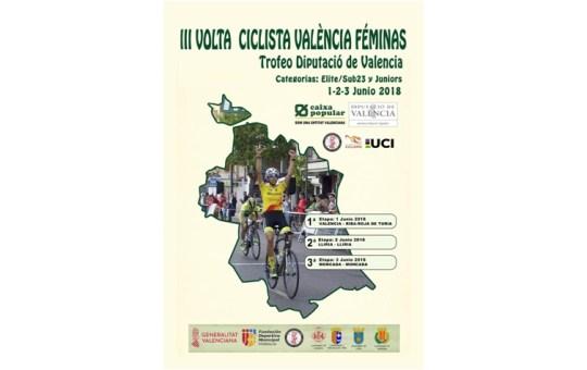 III Vuelta Ciclista Valencia Féminas.