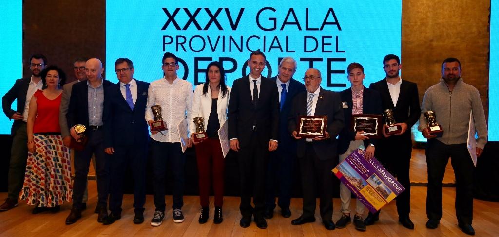 XXXV Premios Provinciales del Deporte