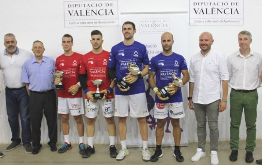 IV Copa de Raspall Diputación de Valencia.