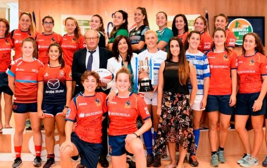 Liga Iberdrola de Rugby Femenino.