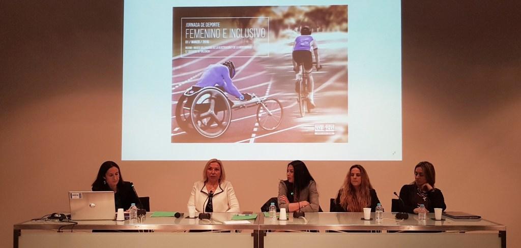 Jornada Deporte Femenino e Inclusivo.