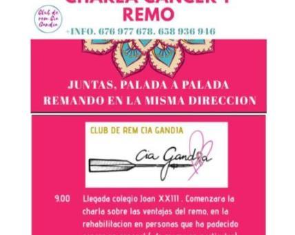 Charla 'Cáncer y Remo'.