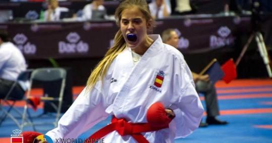 Sonia Pereira Oro Circuito Mundial Juveni