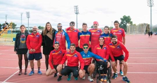 Atletas Selección Paralímpica
