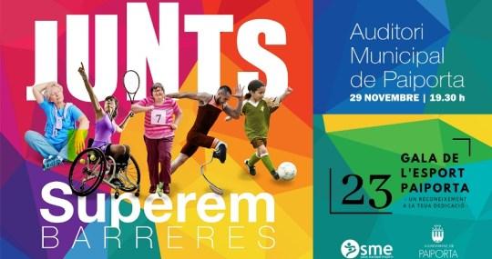 Cartel gala del deporte