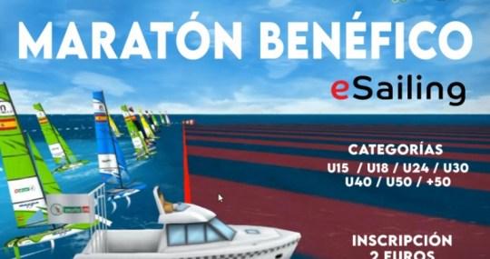 Maratón benéfico e-sailing