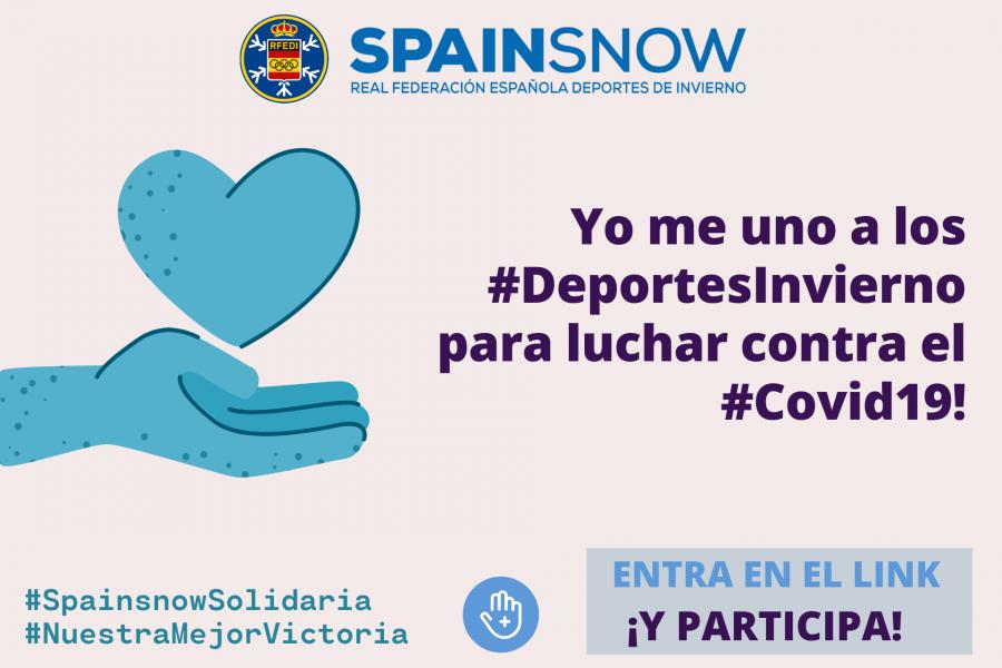 Campaña #SpainsnowSolidaria