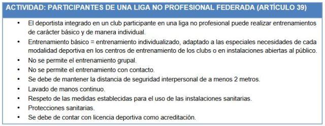 Liga federada no profesional
