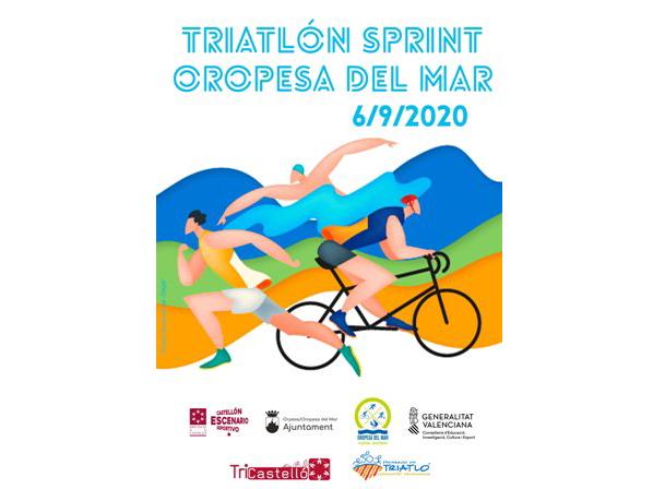 Triatlon sprint Oropesa