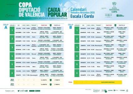 Calendario Escala i Corda