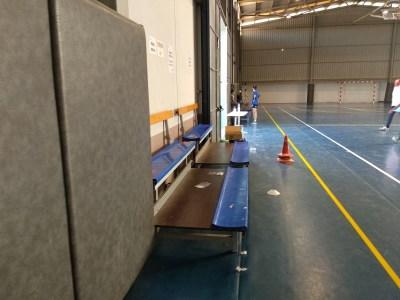 Gradas Polideportivo