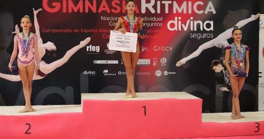 Nacional Base podium valenciano