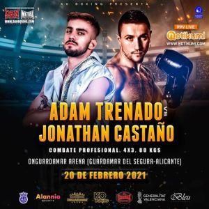 Adam Trenado vs Jonathan Castaño