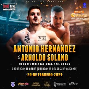 Antonio Hernández vs Arnoldo Solano