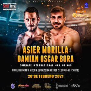 Asier Morilla vs Damián Oscar Bora